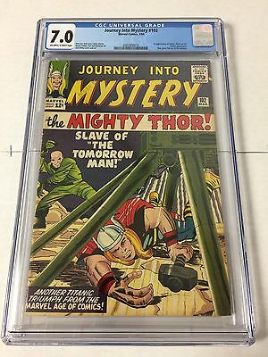 Journey Into Mystery 102 Cgc 7.0 Off White To White Pages First Hela Balder Sif