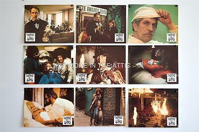 Universal Horror Star Vincent Price W/ Diana Rigg Theatre Of Blood Lobbies X 18