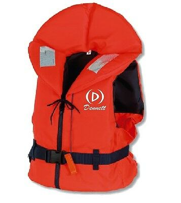 Dennett 100 Newton Foam Life Jacket With Whistle, Reflctive Strips and Straps