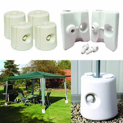 Wido 4 PK GAZEBO FOOT LEG POLE ANCHOR WEIGHTS MARQUEE PARTY TENT MARKET AWNING