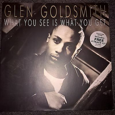 Glen Goldsmith - What you see is what you get rare collectors edition.