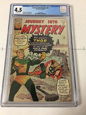 Journey Into Mystery 92 Cgc 4.5 Off-White Pages
