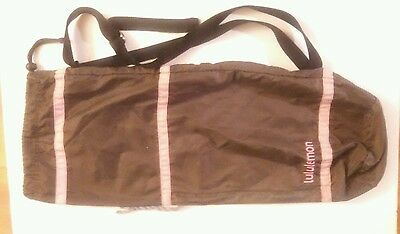 Lululemon Yoga Mat Bag Brown with Pink Gym Vintage