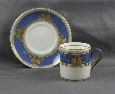 Wedgwood Columbia Powder Demitasse Cup & Saucer (S)  W100