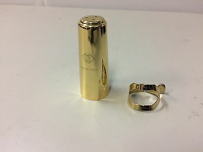 Selmer Paris Alto Saxophone Cap and Ligature