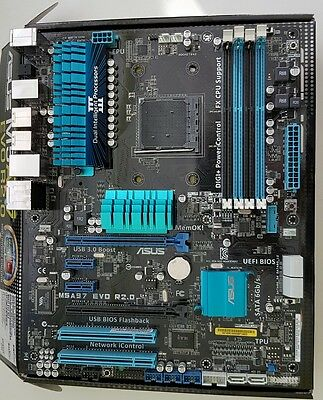 Asus M5A97 EVO R2.0, AM3+, AMD 970 Chipset, for FX 8350