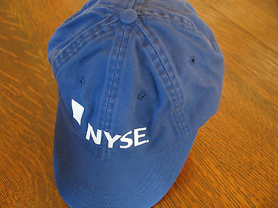 New York Stock Exchange (NYSE) Navy color Adjustable Ball Cap -- NEW --Collector