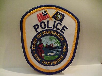 police patch  TOWN OF MERRIMACK  POLICE NEW HAMPSHIRE