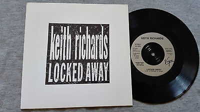 Keith Richards – ''Locked Away''(A Rare Set Of 4) Promotional Vinyl Single.