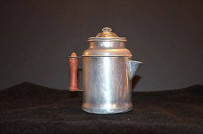 Child`s Aluminum Percolator Coffee Pot