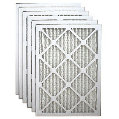 "1"" Filters Fast Allergen Air and Furnace Filters MERV 11 6 Pack Made in America"