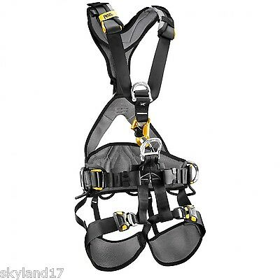 Petzl Avao Bod Croll Fast Harness Ropes access IRATA SIZE 2