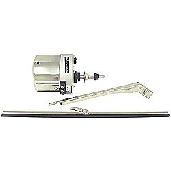 Boat Marine Stainless Steel Windshield Wiper Kit Includes Motor Blade & Arm