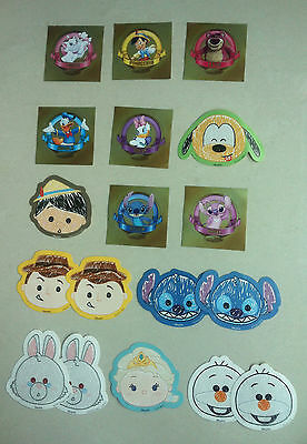 Disneyland Hong Kong Exclusive 18 Stickers Woody, Olaf, Pluto, Stitch, Elsa- New