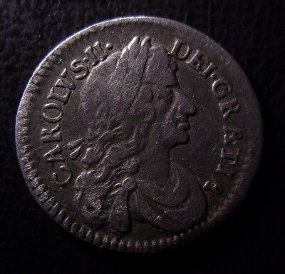 1684 Charles Ii Maundy Silver Twopence