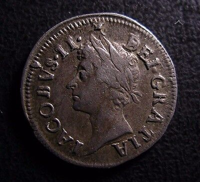 1687 James Ii Maundy Silver Twopence