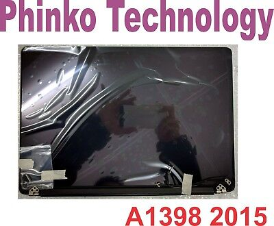 """NEW Apple Macbook Pro Retina 2015 A1398 15"""" 15.4"""" Complete LCD Screen Assembly"""