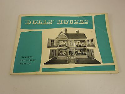 Dolls' Houses (1972 Illustrated PB Book) Victoria and Albert Museum