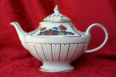 Lidded Gold Trimmed Vintage Athans Arthur Wood 5448 Teapot Tea Pot England