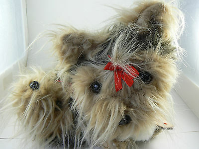 Puppy at Heart Yorkshire Terrier Yorkie Plush Purse with Change Purse