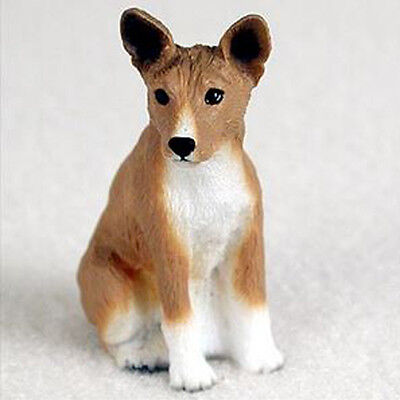 BASENJI TINY ONES DOG Figurine Statue Pet Lovers Resin