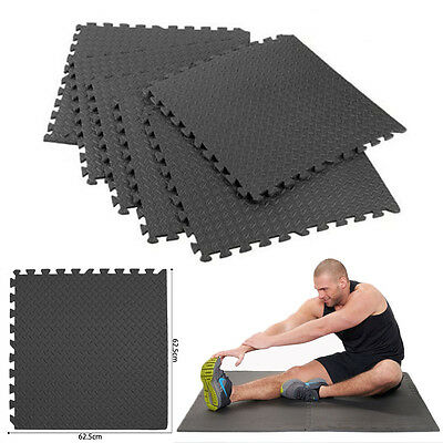 11mm Interlocking Cushion Soft Foam Floor EVA Mats Gym Yoga Exercise Floor Mat