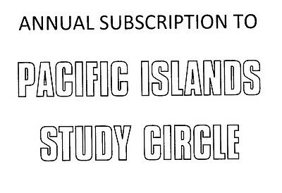 Norfolk Is Collector? - Annual Membership Of The Pacific Islands Study Circle