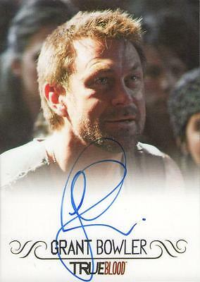 Rittenhouse True Blood Autograph Auto - Grant Bowler as Cooter