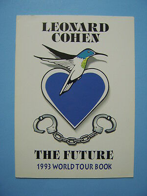 Leonard Cohen: The Future 1993 World Tour Book