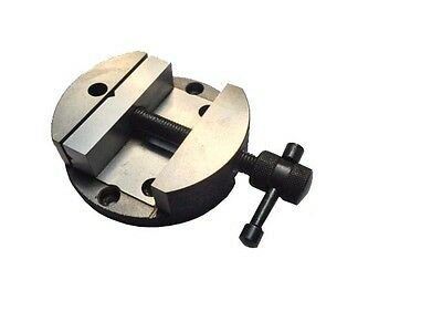 """80mm Round Vice for 3"""" (75 mm) Rotary Table"""