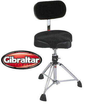 Gibraltar 9608M UBR Motorcycle Style Throne With UBR Back Rest Drum Seat