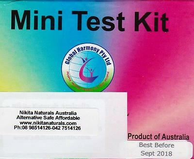 Mini Test Kit for Heavy Metals & pH Tests of the body.
