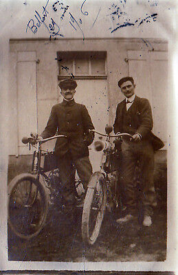 Belfort  Motocyclettes Cart Photo De 1906