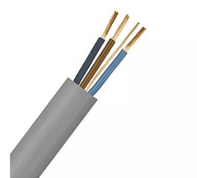Electrical Cable 1.0 Mm 3 Core And Earth 100 Meters