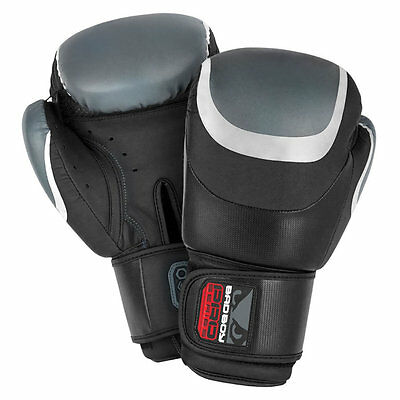 Bad Boy Pro Series 3.0 Muay Thai Boxing Gloves Black/Silver