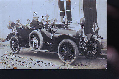 Connerre Voiture Ancienne  Cp Photo