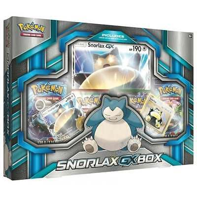 POKEMON XY * Snorlax GX Box