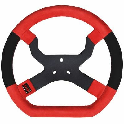 AIM Mychron 5 Steering Wheel In Red With 3 Bolt Fixing UK KART STORE