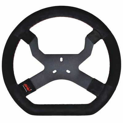 AIM Mychron 5 Steering Wheel In Black With 3 Bolt Fixing UK KART STORE