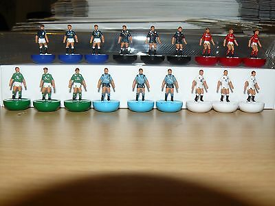 6 Nations 2017 Subbuteo Rugby Teams
