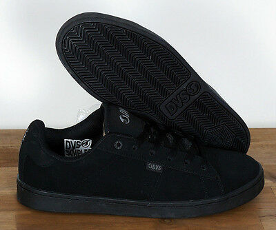 Dvs Skate Schuhe Shoes Revival 2 Black Black Nubuck 9/42,5