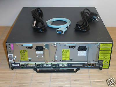 Cisco 7206VXR/NPE-G1 3x Gbit Router with 2x Power, 1GB RAM, 256MB Compact Flash