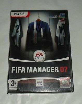 Coffret Jeux PC DVD-ROM Fifa Manager 07 (Neuf sous blister) RARE