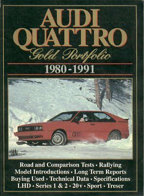 Audi Quattro Coupe S1 & S2 ( Incl Swb Sport & Treser Roadster ) Roadtests Book