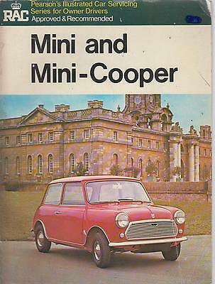 Mini Mk1 Mk2 850 1000 & Cooper / Cooper S 1959 - 1971 Owners Service Manual