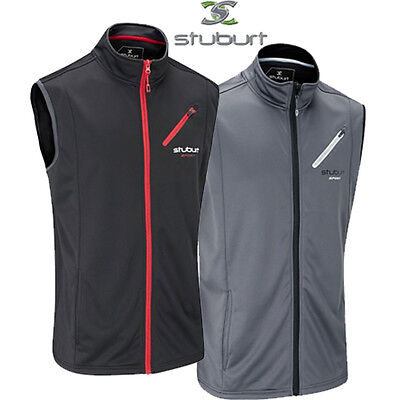Stuburt Sport Lite Bonded Fleece Gilet, Windproof & Thermal , Great for Golf New