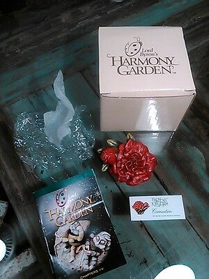 LORD BYRON'S HARMONY GARDEN Carnation Edition 1 FLOWER BOX HG5CAI w/Box & Papers