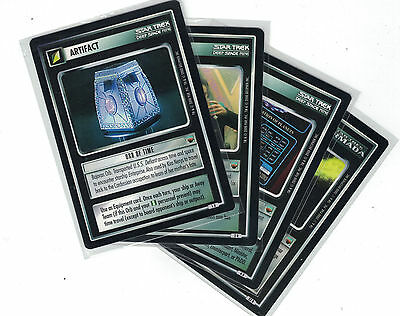 Star Trek CCG Decipher 1st Trouble with Tribbles  : 3x Rare Cards freie Auswahl