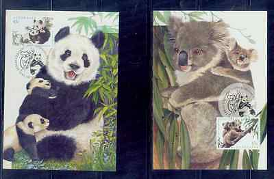 australia /1995 joint issue with chinese maxi card /mnh.good condition
