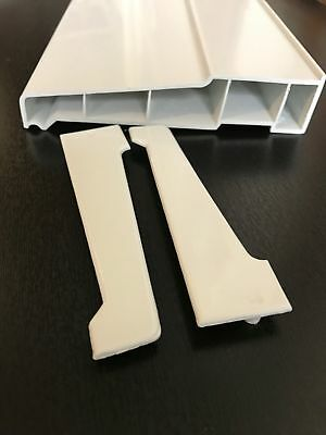 WHITE UPVC WINDOW DOOR EXTERNAL 150mm WINDOW CILL SILL VARIOUS LENGTHS INC ENDS